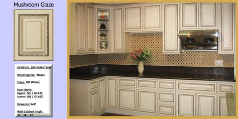 off white cabinets with brown glaze glazed white cabinets kitchencabinetsnews