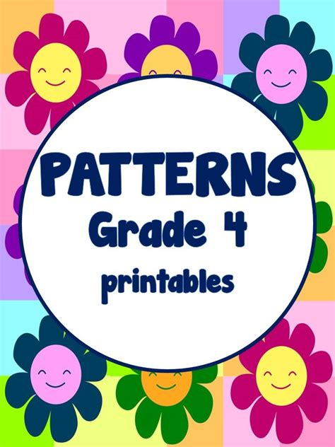 number patterns math patterns  grade math teaching