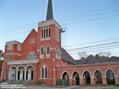 Methodist United Church Ga County Dublin Georgia
