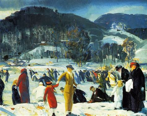 celebrate george wesley bellowss paintings artnet news