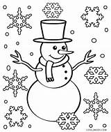 Snowflake Coloring Pages Christmas Printable Cool2bkids sketch template
