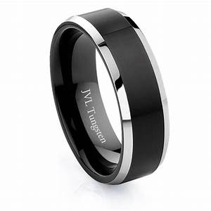 jvl jewelry tungsten wedding band rings With tungsten wedding rings for him