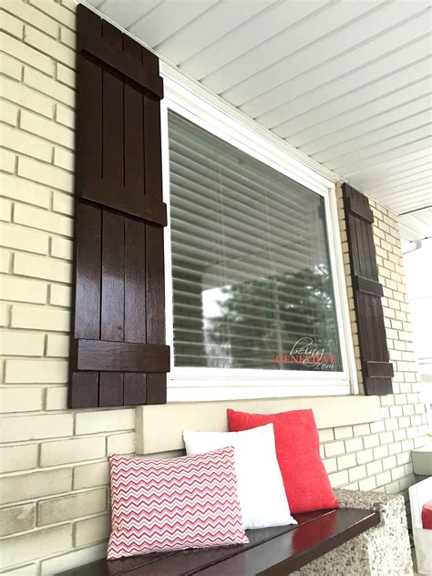 farmhouse shutters being genevieve