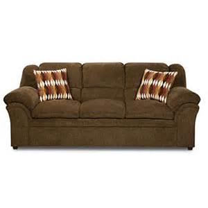 Simmons Sofas At Big Lots by Simmons Verona Chocolate Chenille Sofa Big Lots