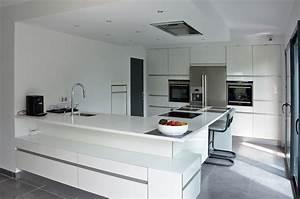 ecriture d39un interieur contemporain soa architecture With cuisine ouverte sur sejour salon
