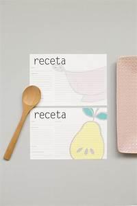 Imprime Estos Recetarios Para Tu Cocina  U2013 La Vida En Craft