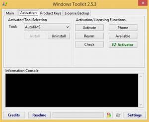 windows toolkit 2.6 инструкция