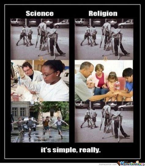 Religion Memes - science vs religion by mustapan meme center
