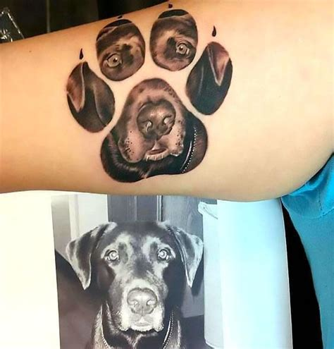 Small Paw Print Tattoo cute  lovely dog tattoos ideas  dog lovers 564 x 590 · jpeg