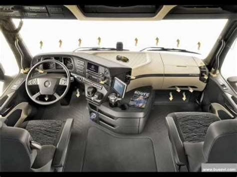 actros mp4 innenraum mb actros 1851 mp4 interior by geo93
