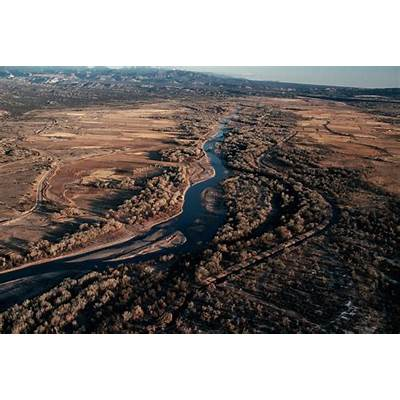 aerial-view-of-the-rio-grande-2 - New Mexico Pictures