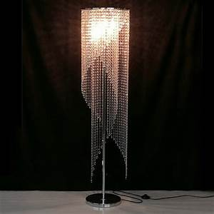 led fashion modern crystal floor lamp living room lights With lamp to light whole room