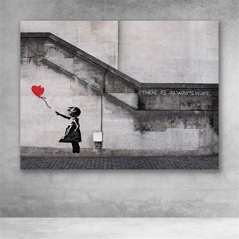 Red Balloon Banksy Girl