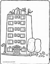 HD wallpapers apartment building coloring pages top-iphone ...