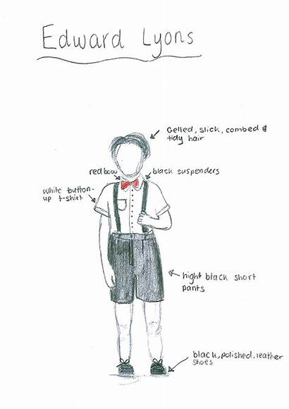 Blood Brothers Costume Designs Annotations Characters Samples