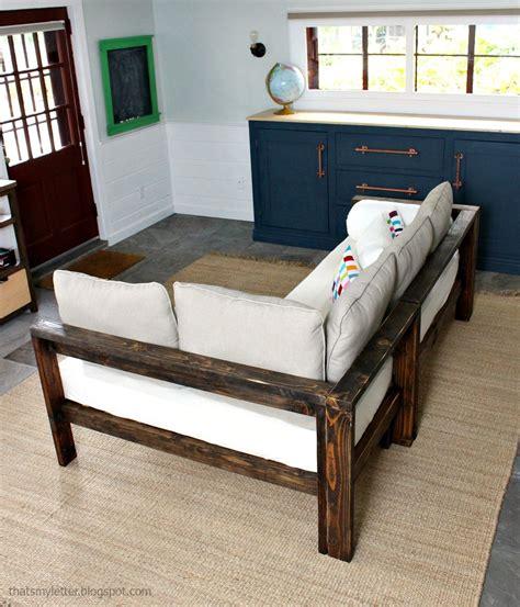 Diy Wood Sofa by 2x4 Diy Sectional With Crib Mattress Cushions