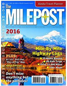 2016 Milepost Is Now Available