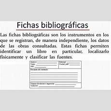 Ejemplos De Fichas Ejemplo De Fichas Bibliogr 225 Ficas