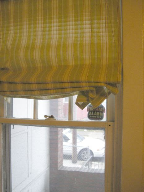 Roman Shades From Cheap Blinds