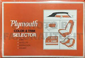1971 Plymouth Duster  Scamp   U0026 Valiant Wiring Diagram