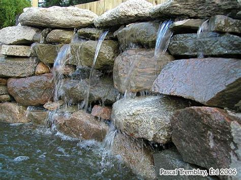 how to build a waterfall wall water garden waterfall diy pond waterfall design ideas plans