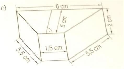 oberflaecheninhalt eines prismas errechnen mathelounge