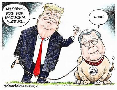 Barr Trump Dog Cartoons Ag Cartoon William