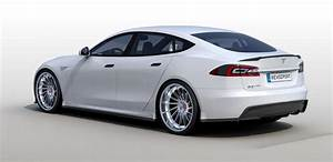 R-zentric Tesla Model S Is An All Carbon Fiber Tuning Job  Video