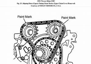 2003 Nissan Xterra Timing Chain Diagram