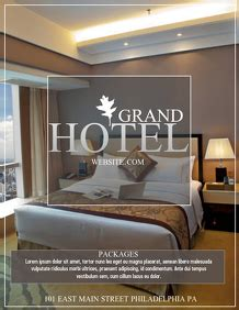 customizable design templates  hotel postermywall