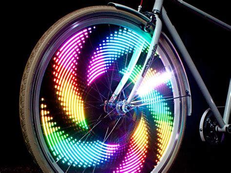 Led Lamps For Bikes monkeylectric bike wheel lights youtube