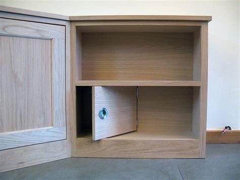 Oak Corner Media Unit-bespoke Handmade Living Furniture