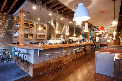 Open Kitchen Ideas - in chicago several new restaurants have kitchen counter seating like storefront company and