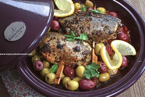cuisine algerienne tajine de poisson à la chermoula les joyaux de sherazade