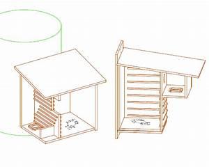 Comment Construire Une Cabane à écureuil : les diff rents types de nichoirs ~ Melissatoandfro.com Idées de Décoration