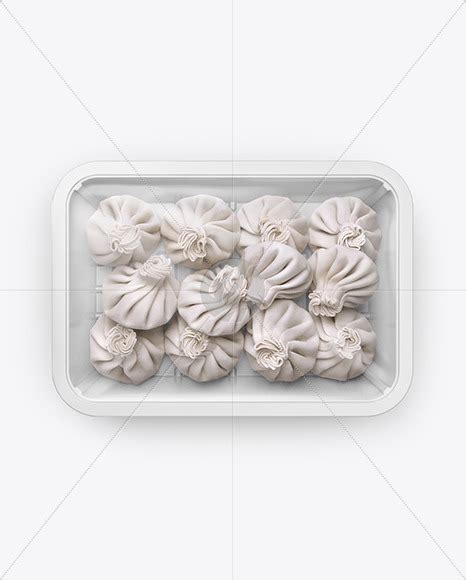 Create your tray packaging mockup in seconds! Plastic Tray With Red Chili Peppers Mockup - Free ...