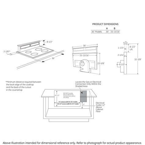 uvbdkbb universal  telescopic downdraft system  monogram collection