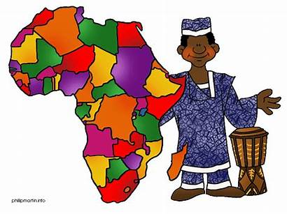 Africa Clip Map Geography Continents African Clipart