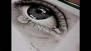 How to Draw Realistic Eye Using Pencil and Charcoal ...