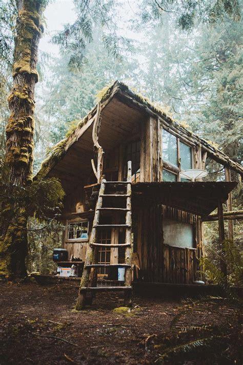 primitive cabin   cabinporn