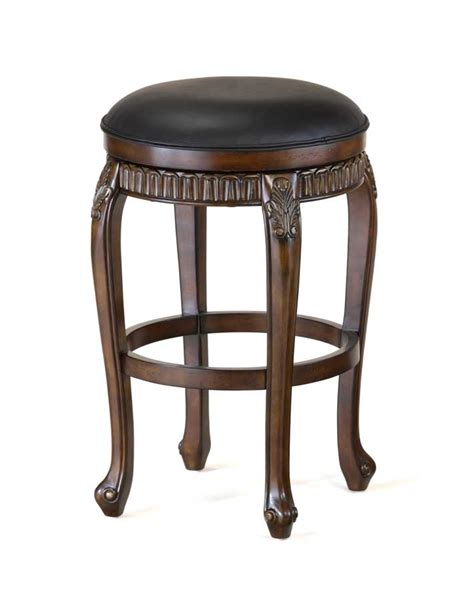 fleur de lis bar stools hillsdale fleur de lis swivel wood counter stool backless 62993 hillsdalefurnituremart com