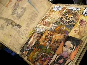 Paul Komoda U0026 39 S Sketchbook Comic-con 09 U0026 39