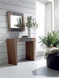 17 best images about meubles d39entree design ou With meuble entree avec miroir 16 ensemble console contemporaine laque 1 tiroir miroir
