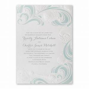 disney ocean wonders invitation ariel invitations by dawn With disney beach wedding invitations