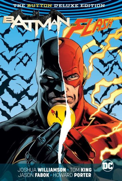 batmanthe flash  button deluxe edition  tom king