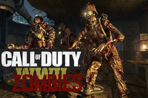duty call zombies ww2 comic con trailer cod zombie release diego san leaked games dailystar ahead july