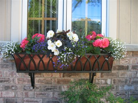 Go Europeanchic With Wrought Iron Window Boxes And