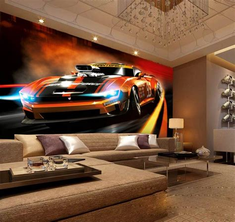 3d Wallpaper Custom Room Mural Non Woven Sticker Dynamic