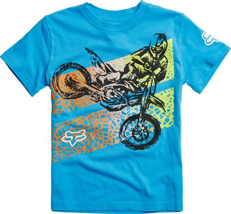 fox motocross t shirts fox racing kids boys onaga motocross short sleeve t shirt