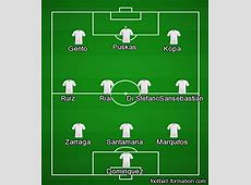 Real Madrid 19551960 formation